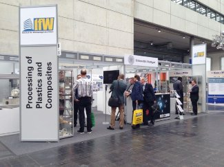 IfW-Messestand